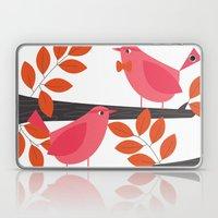 Two Little Birds Laptop & iPad Skin
