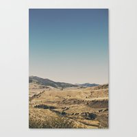 Beautiful Yellowstone Canvas Print