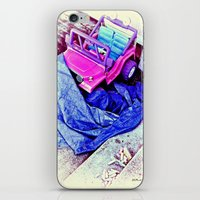 Jeep & Tarp & Chalks iPhone & iPod Skin
