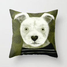 AMERICAN PIT BULL TERRIE… Throw Pillow