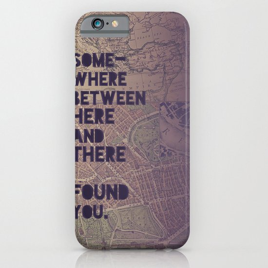 Here & There iPhone & iPod Case