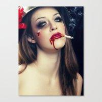 Marlbolo Girl Canvas Print