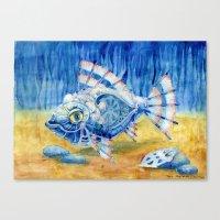 Iron Fish Canvas Print