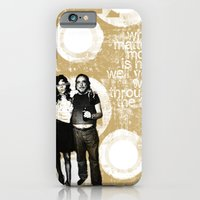 iPhone & iPod Case featuring Walking Through Fire... by New Scar Design