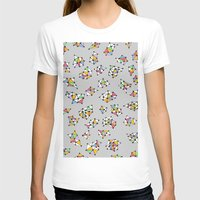 alien invasion Womens Fitted Tee White SMALL