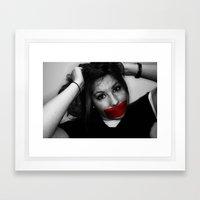Shannon Day of Silence Shoot Framed Art Print