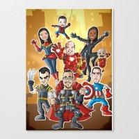 group Canvas Print