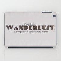 Wanderlust iPad Case