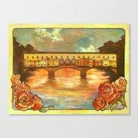 Ponte Nouveau Canvas Print