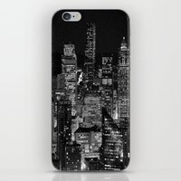 iPhone & iPod Skin featuring When The Lights Go Out by lokiandmephotography