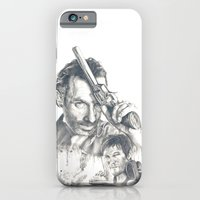 walking dead iPhone & iPod Cases featuring Walking Dead by Heather Andrewski