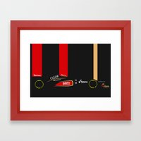 E21 Framed Art Print