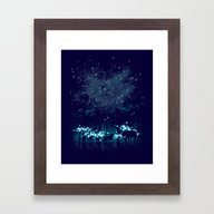 Cosmic Safari Framed Art Print