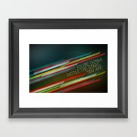 You're Gonna Rattle The … Framed Art Print