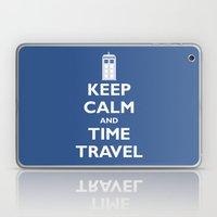 Keep Calm And Time Travel Laptop & iPad Skin