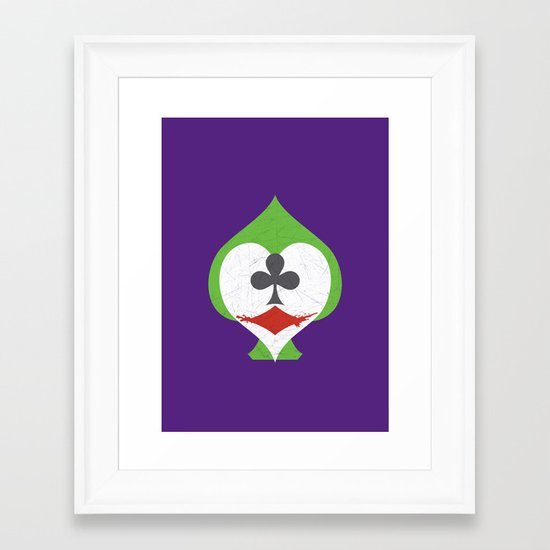 The Joker's Wild Framed Art Print