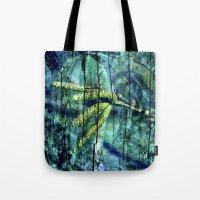 ARCHAIC BLUE DREAM Tote Bag