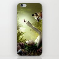 Lady of the Forest iPhone & iPod Skin