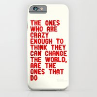 The Crazy Ones iPhone 6 Slim Case