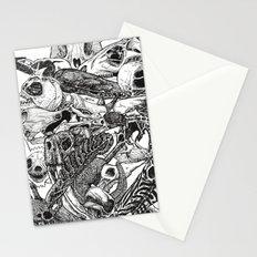 Animal Skulls Stationery Cards