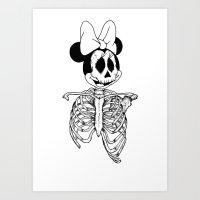 GreaterDeathsney Art Print
