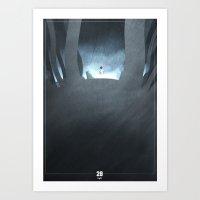 Number 28 Art Print