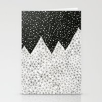 Day And Night (pen On Pa… Stationery Cards