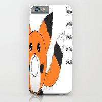 Donut fox  iPhone 6 Slim Case
