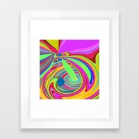 Re-Created  Sour Candy 8… Framed Art Print