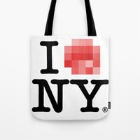 Censored Love Tote Bag