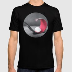 BELLÁSS Mens Fitted Tee SMALL Black