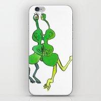 lesbian space alien seeks same iPhone & iPod Skin