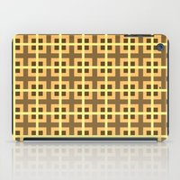 Pattern Yellow iPad Case