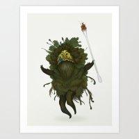 King Kawak Art Print