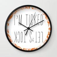 Tick Tock Said The Clock Wall Clock