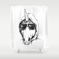 Unibomber Shower Curtain