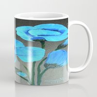 Blue Poppies  Mug
