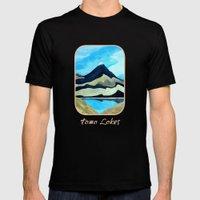Mt Doom : Tama Lakes Mens Fitted Tee Black SMALL