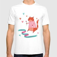 The Cat's Pyjamas Mens Fitted Tee White SMALL
