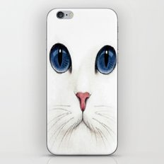 Cat face. iPhone & iPod Skin