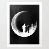 Lunar Theory Art Print
