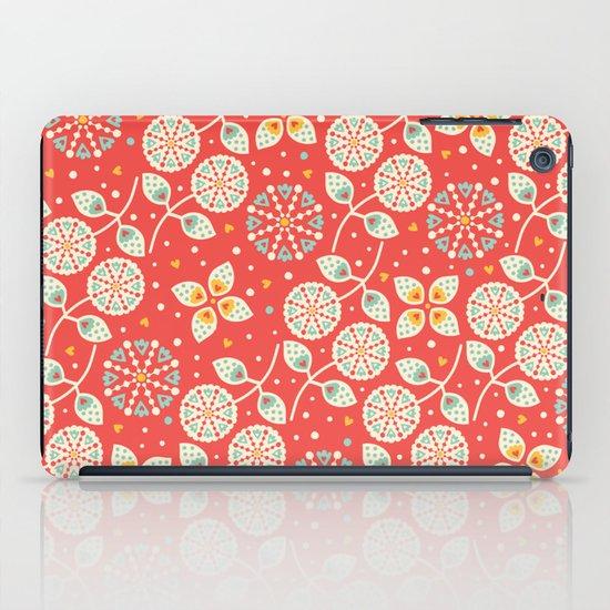 Vintage Flora iPad Case