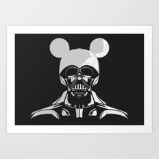 Dark Mouse Art Print
