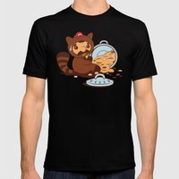 The Tanooki Truth Mens Fitted Tee Black SMALL