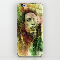 Reggae Rebel (Marley) iPhone & iPod Skin