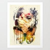 The Silence Art Print