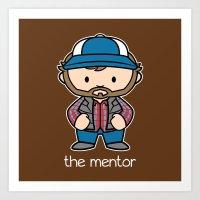 The Mentor Art Print