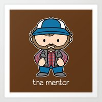 The Mentor Art Print