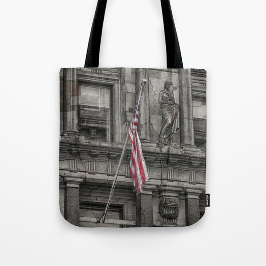 Set in Stone and Silk Tote Bag