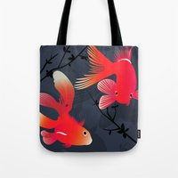 Like A Fish In The Sea Tote Bag